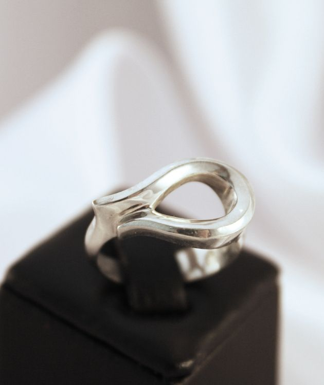 Sterling Silver Hollow Ring | Made in New Zealand