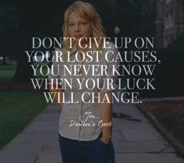Words by Jen, 'Dawson's Creek' - Quotes on Life and Love From Your Favorite TV Shows - Photos