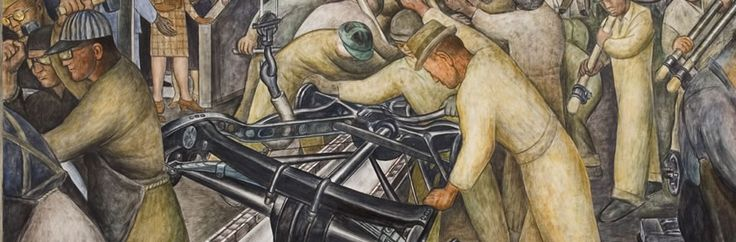 Detroit Industry (South Wall) (33.10.S) — Diego M. Rivera, 1932–1933 detroit institute of arts