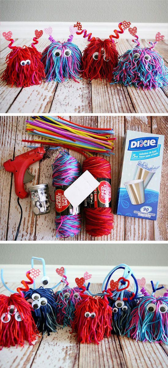 awesome 26 Super Fun Valentines Day Crafts for Kids to Make by http://www.danazhome-decorations.xyz/diy-crafts-home/26-super-fun-valentines-day-crafts-for-kids-to-make/