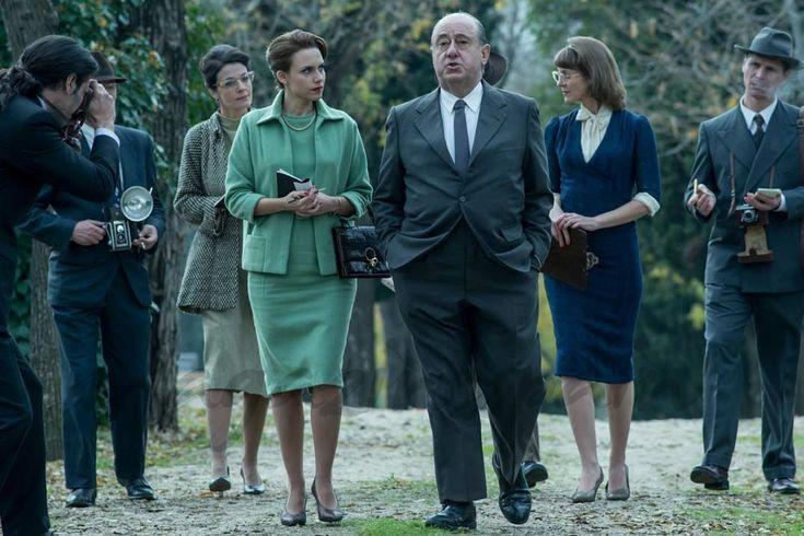 """Vuelve """"El Ministerio del Tiempo"""" con su tercera temporada  Aura Garrido, José Angel Egido - El Ministerio del Tiempo - © RTVE"""