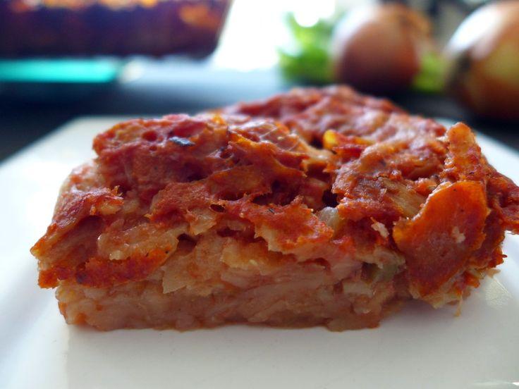 Suriname Pom Chicken & Ham Casserole RECIPE