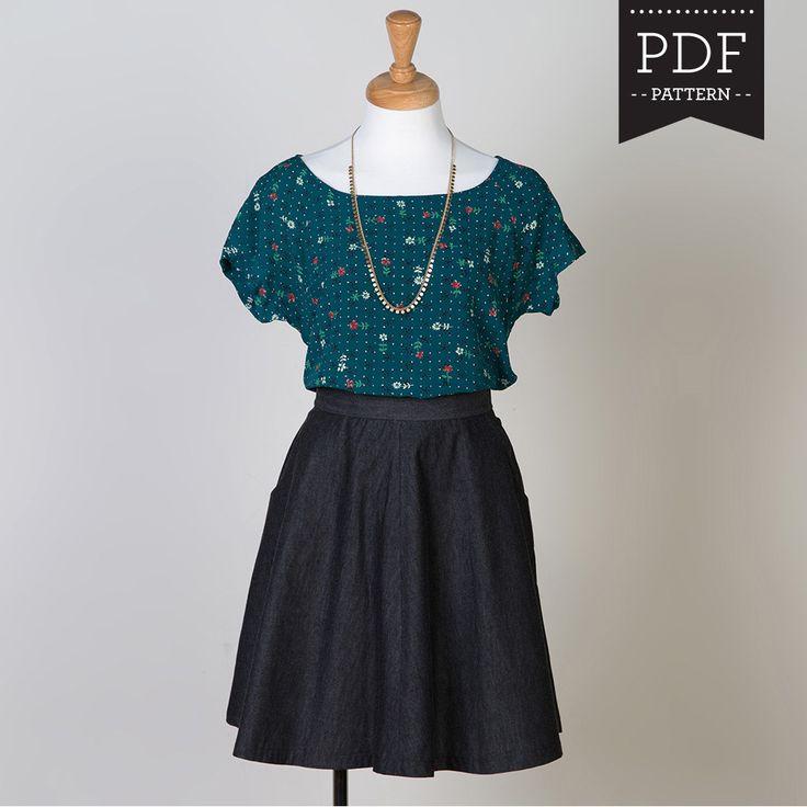 479 besten Sewing patterns   ompelumalleja Bilder auf Pinterest ...