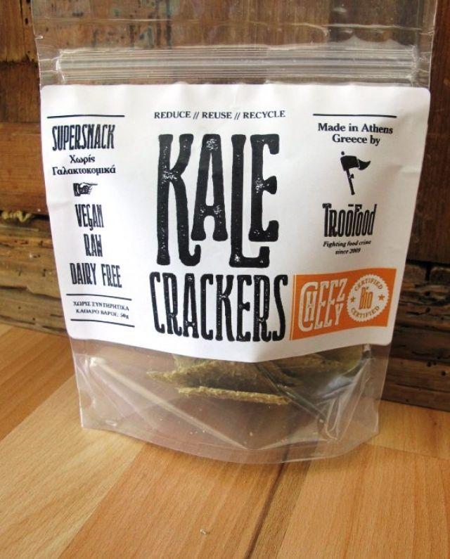 Troo Food Kale Crackers CHEEZY