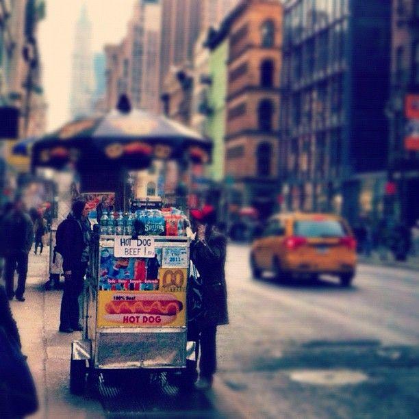 Best Hot Dog Cart In New York City