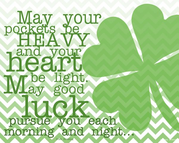 St. Patric's Day Free Printable the36thavenue.com #St_Patricks_Day