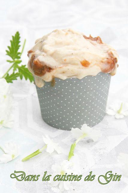 Nice cream à la banane et coulis de datte au lucuma  Glace minute sans gluten, sans lactose, sans oeuf, sans sorbetière
