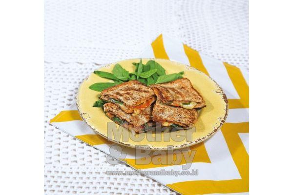 sandwich tempe ala pizza
