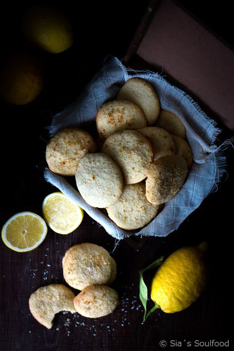 """Lemon Coconut Cookies 