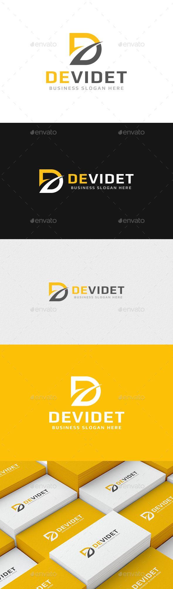 Devidet D Letter Logo 121 best