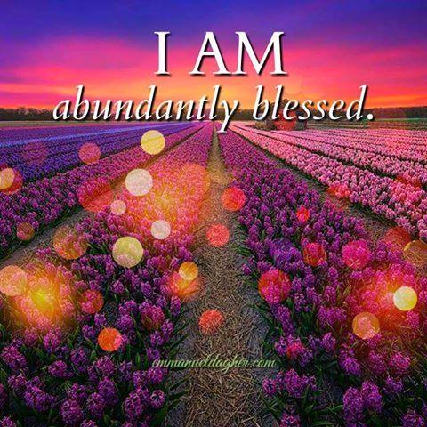 Club Miracles - I AM abundantly Blessed!!