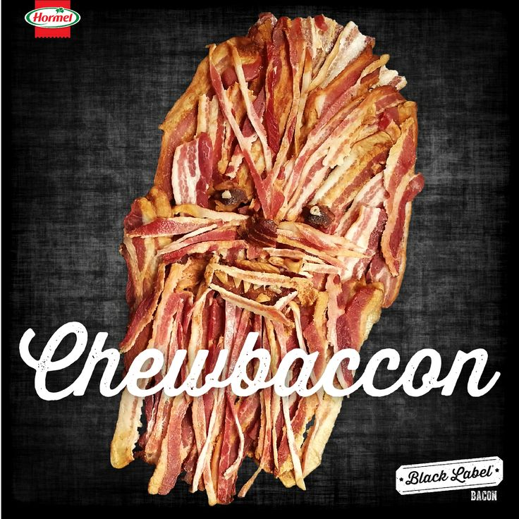 May the 4th be with you. The bacon is strong with Chewbaccon.