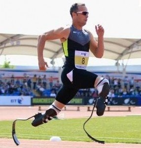 South African Sports Confederation and Olympic Committee (SASCOC) announced that Pistorius, also known as 'Blade Runner', will be competing in the individual men's 400m and 4x400m relay at the London 2012 Olympic Games