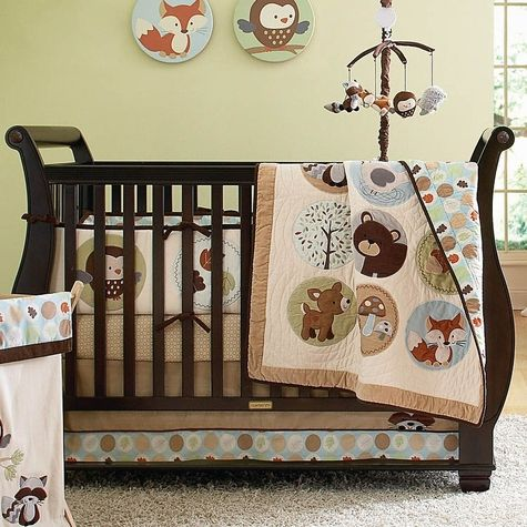 Woodland Animals Nursery Bedding