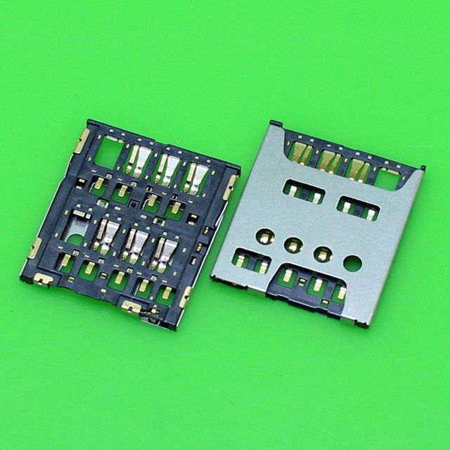 Generic ChengHaoRan 1 Piecememory Card Reader Socket for Sony Z5 Slot Tray Holder Connector Replacement.KA-277