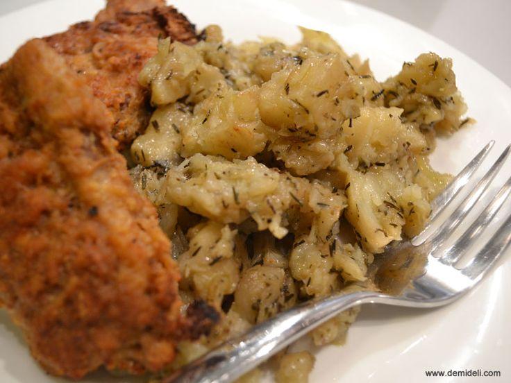 Πουρές από Σελινόριζα με Θυμάρι - DemiDeli - Αγαπημένες Συνταγές