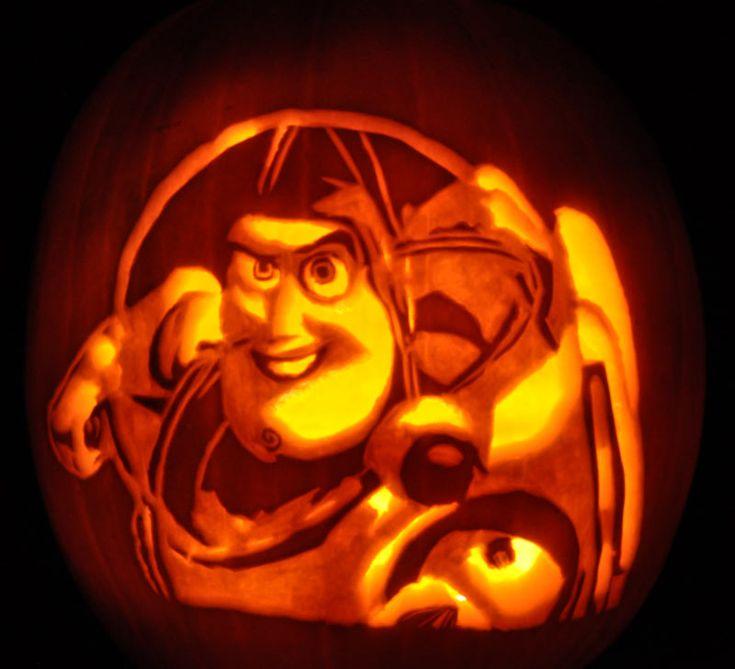 48 best halloween pumpkin carvings images on pinterest for Buzz lightyear pumpkin template