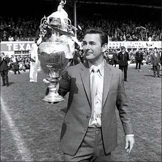 Brian Clough vince la First Division con il Derby County