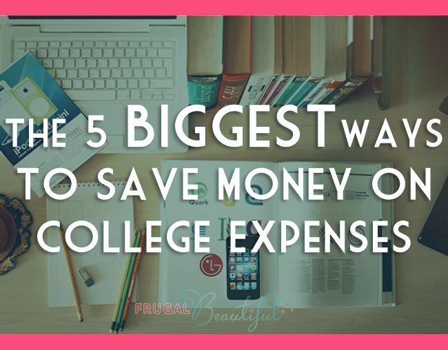 Going Back To School? How to save the most money on your recurring expenses and big purchases as a college student, from students who know!