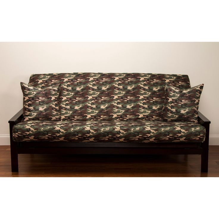 Siscovers Galaxy Camo 6 Inch Deep Queen Size Futon Cover