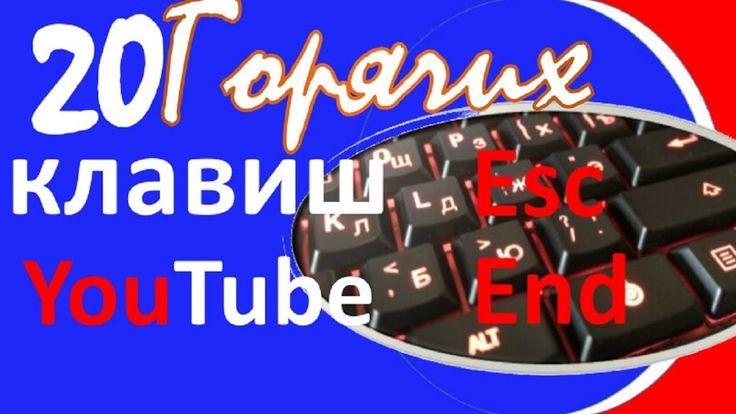 Сочетание полезных клавиш Youtube Горячие клавиши Youtube.