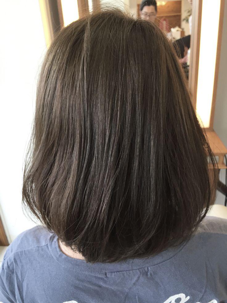 赤味を消したアッシュベージュがきれいすぎる。次の髪色候補はこれに決定@つくば美容室ジールサロン - 美容室ジールサロン 副店長 藤田 和彦