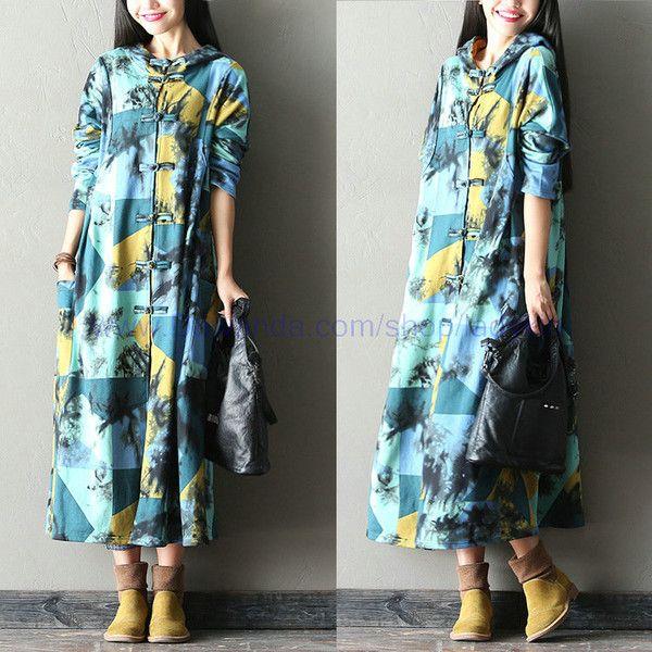 Frauen lösen Lange Regen Mantel von ladykin auf DaWanda.com