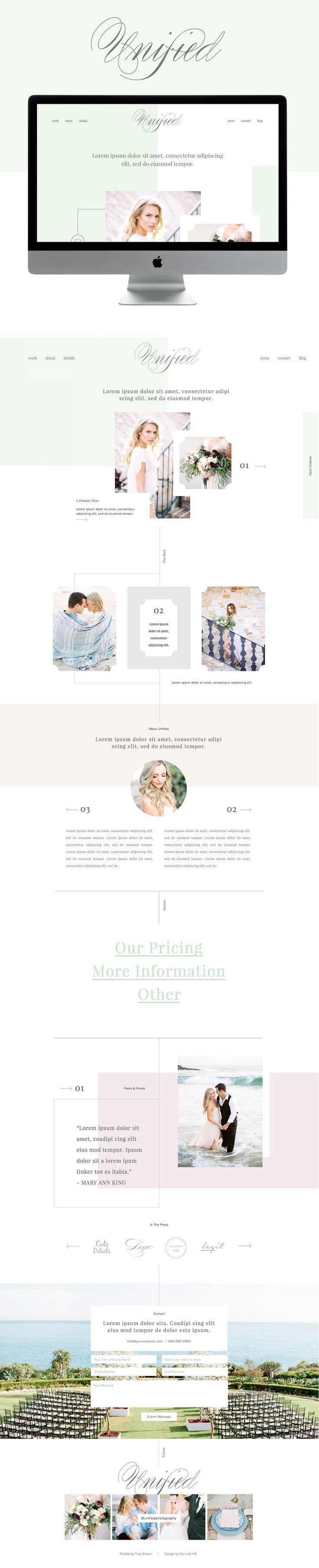 37 best website themes images on pinterest design web design