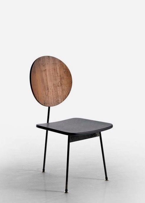 Stefan Siwinski three-legged chair 1958