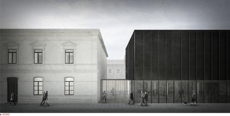 Primer Lugar Concurso habilitación y construcción Archivo y Biblioteca Regional de Punta Arenas / Rodrigo Aguilar