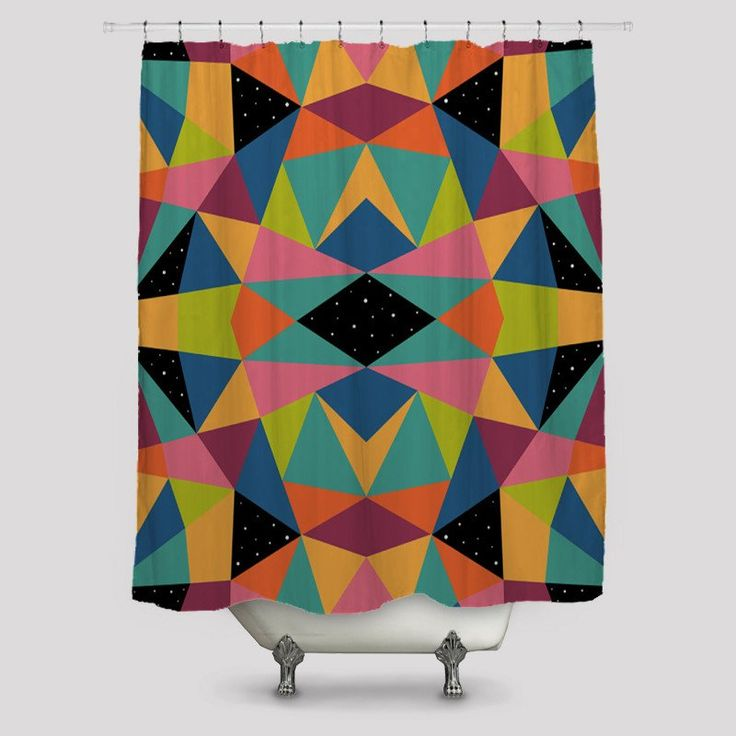Colourful My Day Shower Curtains http://www.toko6.com/products/colourful-my-day-shower-curtains