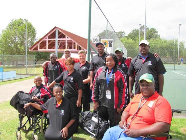 South Africa Ekurhuleni wheelchair tennis team!