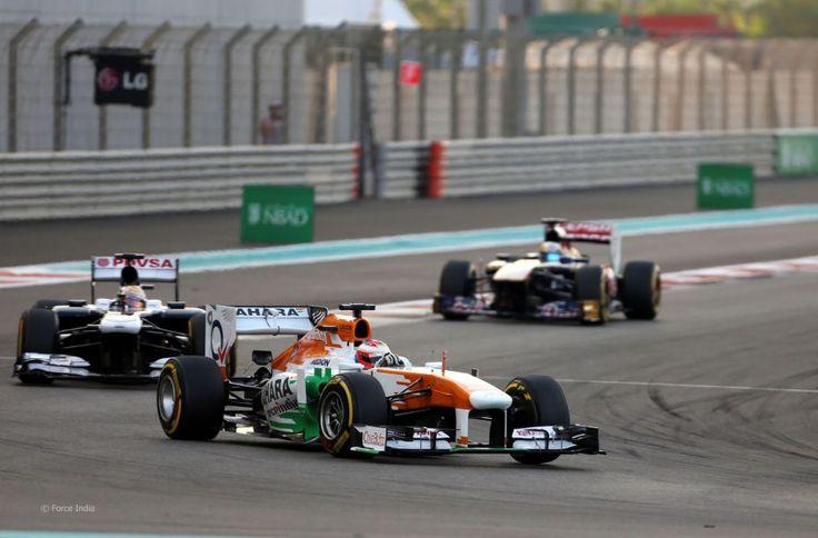 Paul di Resta, Force India, Yas Marina, 2013