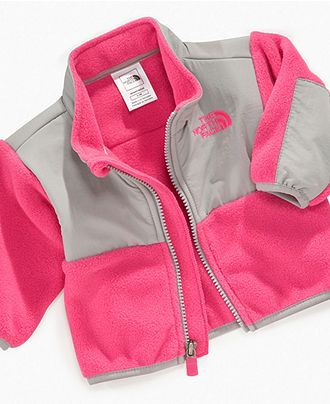 The North Face Baby Jacket, Baby Girls Denali Jacket - Kids Baby Girl (0-24 months) - Macy's