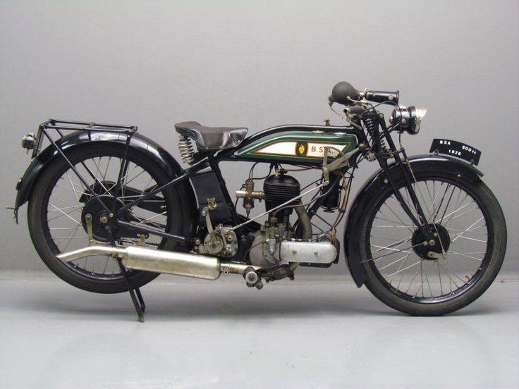 BSA 1927 S27 500 cc