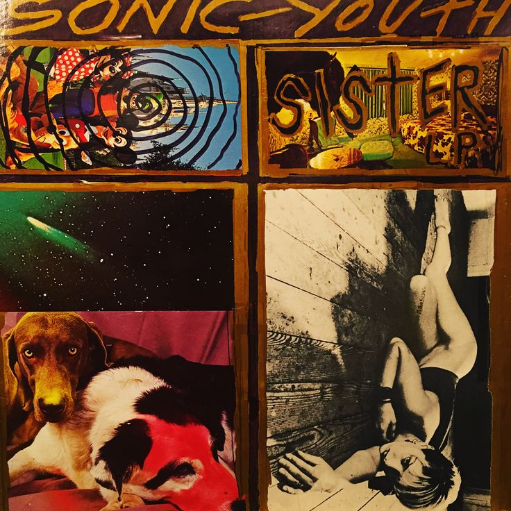 Sonic Youth - Sister. 1987, US. 1st pressing with Disney and Richard Avedon photos.