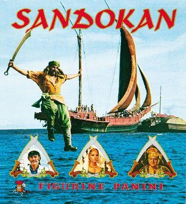 Album Panini di Sandokan