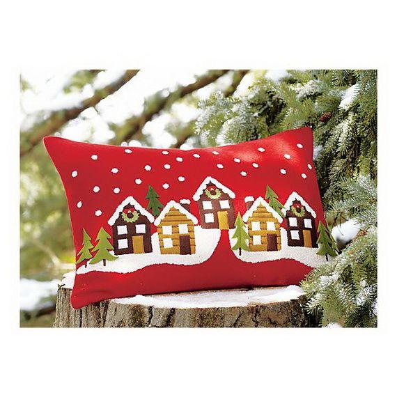 Gorgeous Handmade Christmas Pillow Inspirations_39