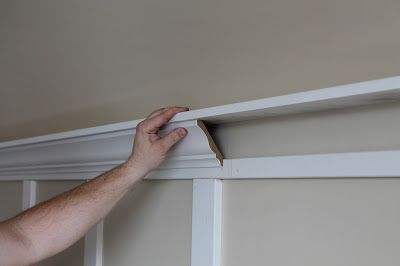 DIY Board and Batten-Master Bedroom April 8, 2013 By: Melanie14 CommentsDIY Board and Batten-Master Bedroom