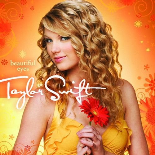 Taylor Swift - Beautiful Eyes - CD & DVD  Got this CD for Christmas