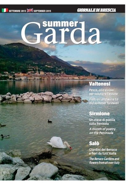 Summer is over, but not vacation time on Lake Garda.