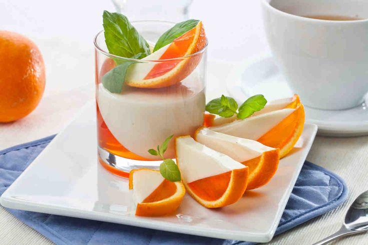 Deser z galaretki. #pomarańcze #glaretka #deser #dzieńkobiet #smacznastrona #tesco #przepisy #przepis