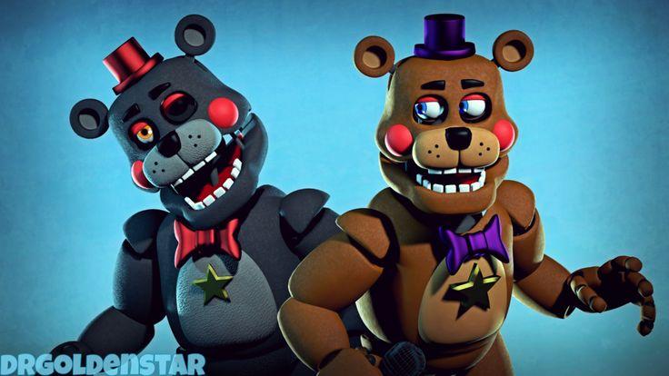 (SFM) Rockstar Fred and Lefty by DrGoldenstar