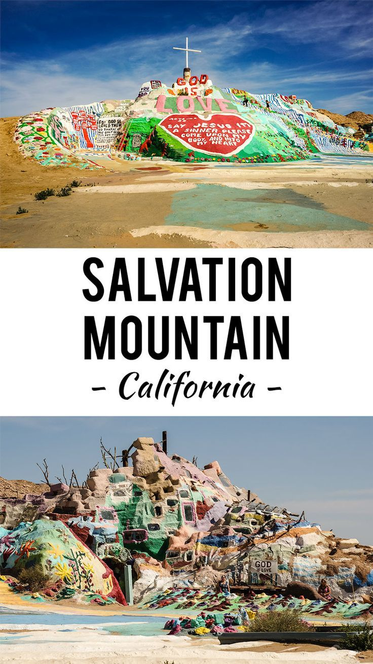Visiting Salvation Mountain and Slab City in California http://www.desktodirtbag.com/salvation-mountain/