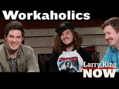 """Workaholics"" Anders Holm, Adam DeVine & Blake Anderson on ""Larry King Now"" - Ora TV"