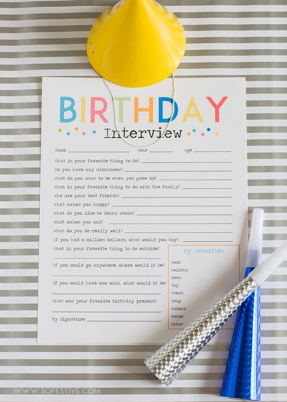 The 25+ best Birthday interview questions ideas on Pinterest - interview questions