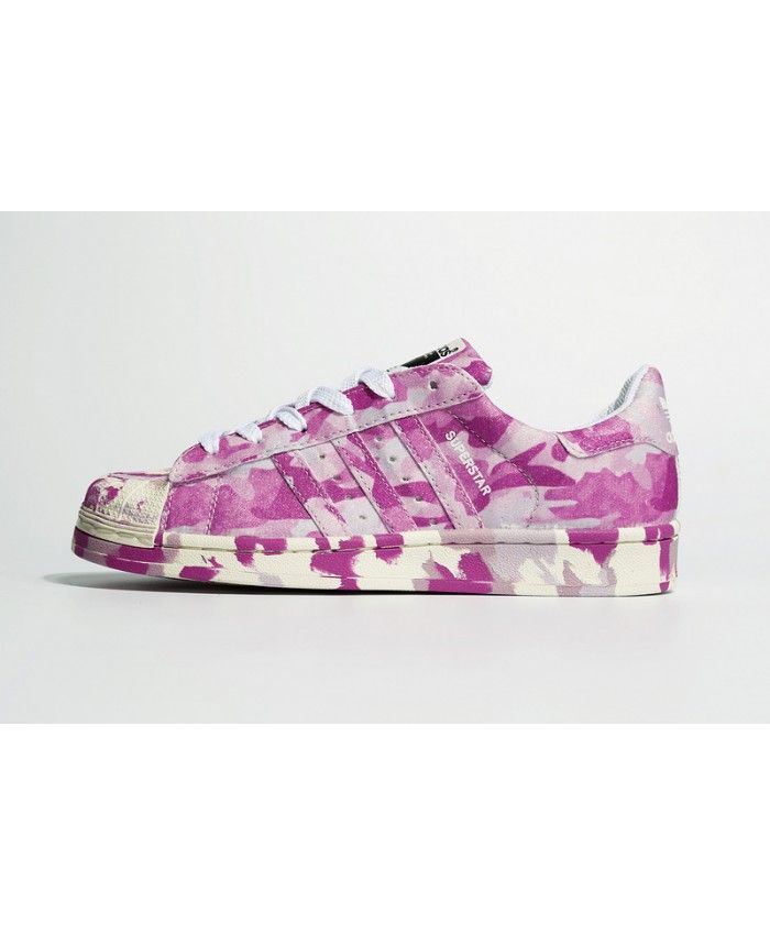 Adidas Superstar Womens Pink Camo Print Shoes Like the pink you, come take a look!