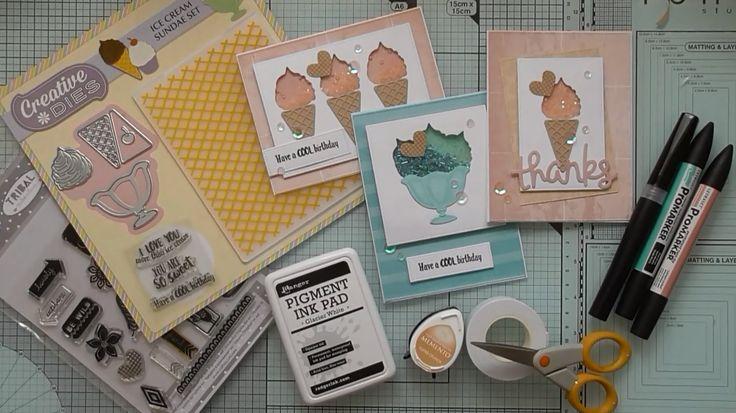 Ice Cream Shaker Cards :D