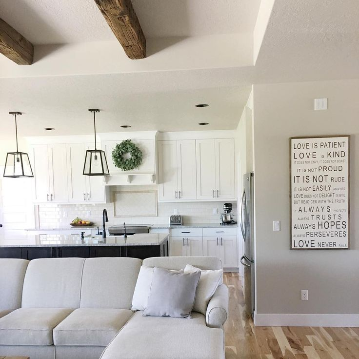 Sherwin Williams - Accessible beige and snowbound @our.rustic.home