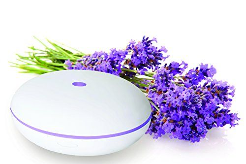 Smiley Daisy Essential Oil Diffuser - Cool Mist Humidifier - Energy Saving Quiet Electric Ultrasonic Technology - Best Fragrance Scented Oil Aromatherapy Diffuser with 7 Color Changing LED Lamps and Mist Mode Adjustment - Waterless Auto Shut-off - Run 3 h